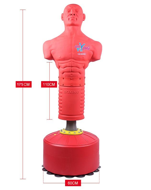 Muñeco de Impacto hechos de silicona rígida Box Artes Marciales