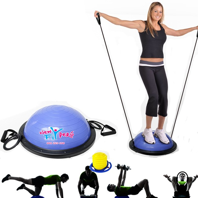 Bosu Ball semiesfera de  Equilibrio Fitness Gym Crossfit