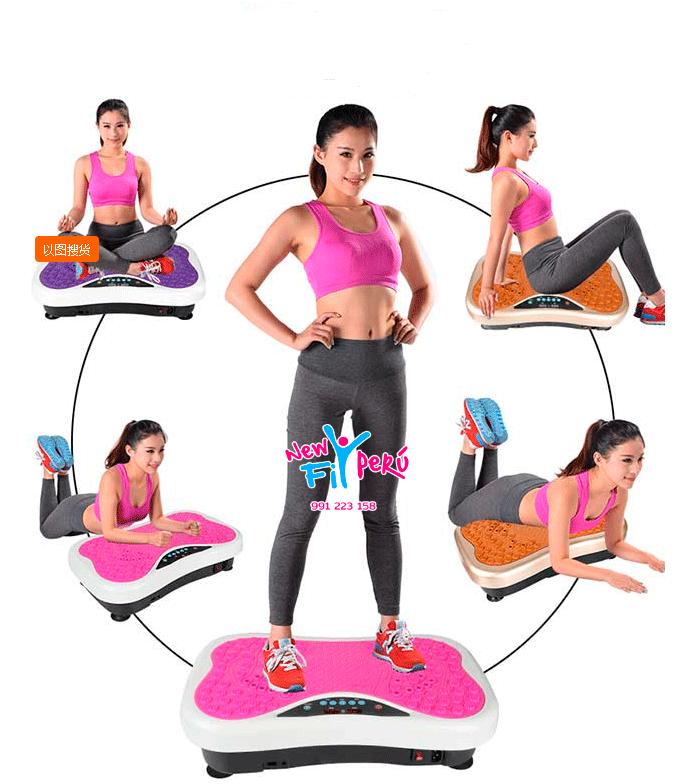 PLATAFORMA DE vibración máquina fitness