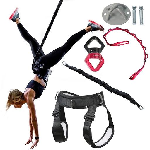 BUNGEE DANCE Cinturón de resistencia para yoga/ entrenamiento de gravedad