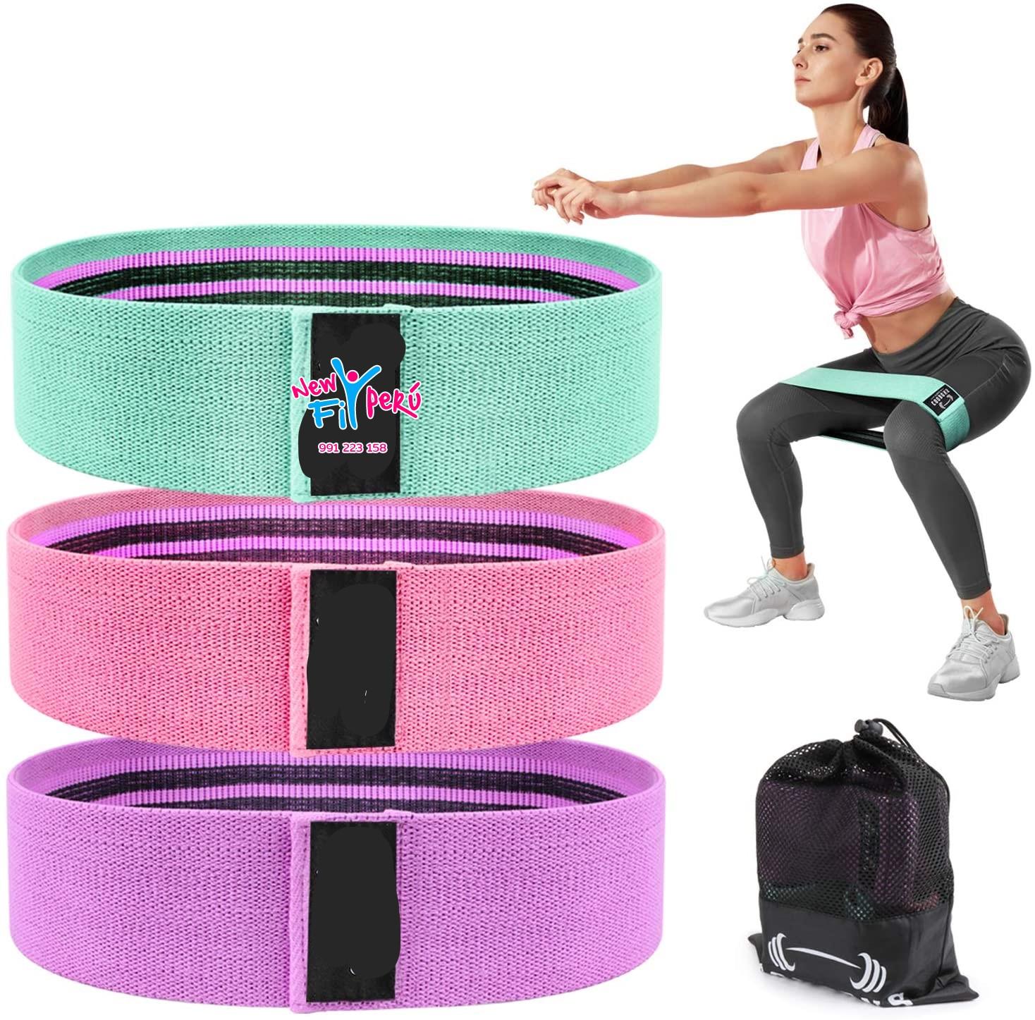 Bandas Elásticas cadera/ Nylon De Resistencia Yoga Gym