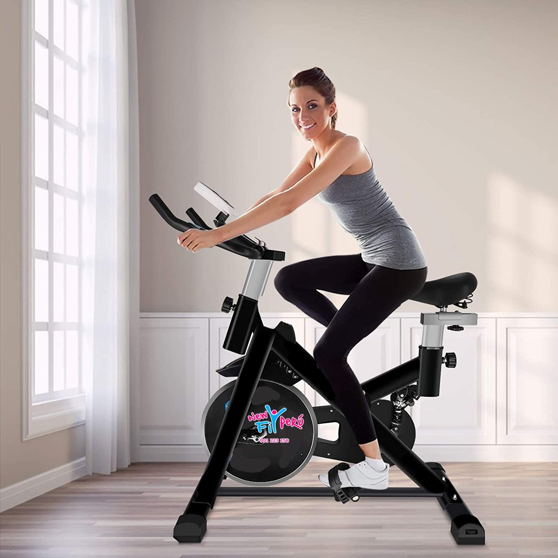 Bicicleta Spinning Black PX-333 /Volante 14kg