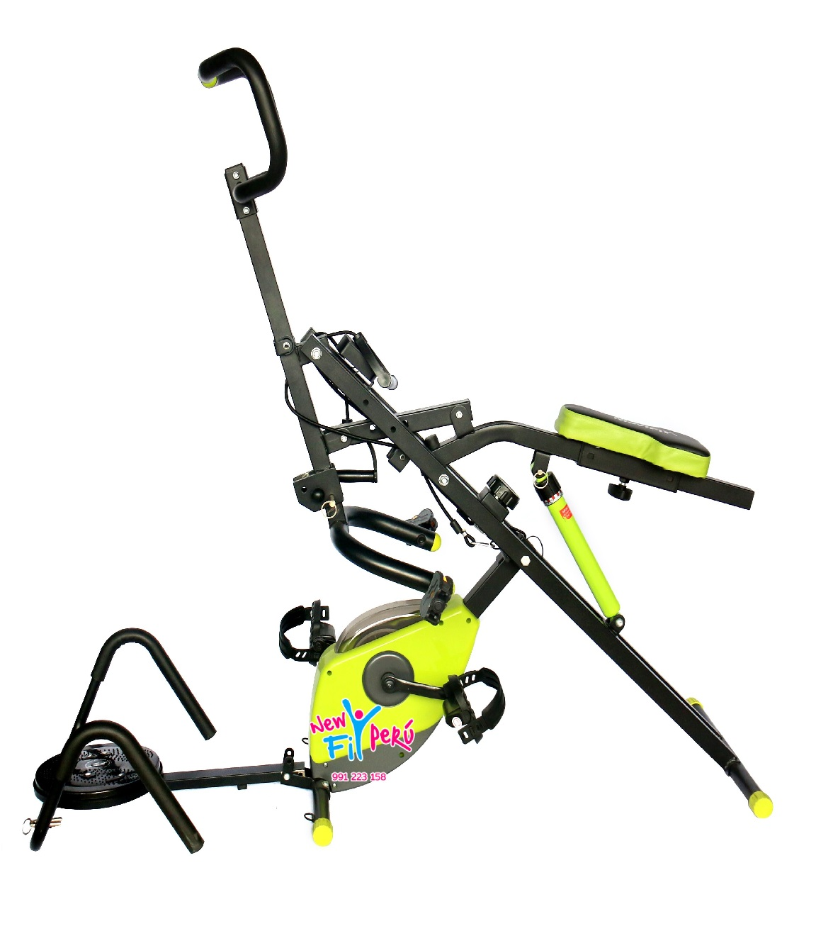 AB CRUNCHER 5 EN 1 / DISCO TWISTER DE CINTURA Y PUSH UP